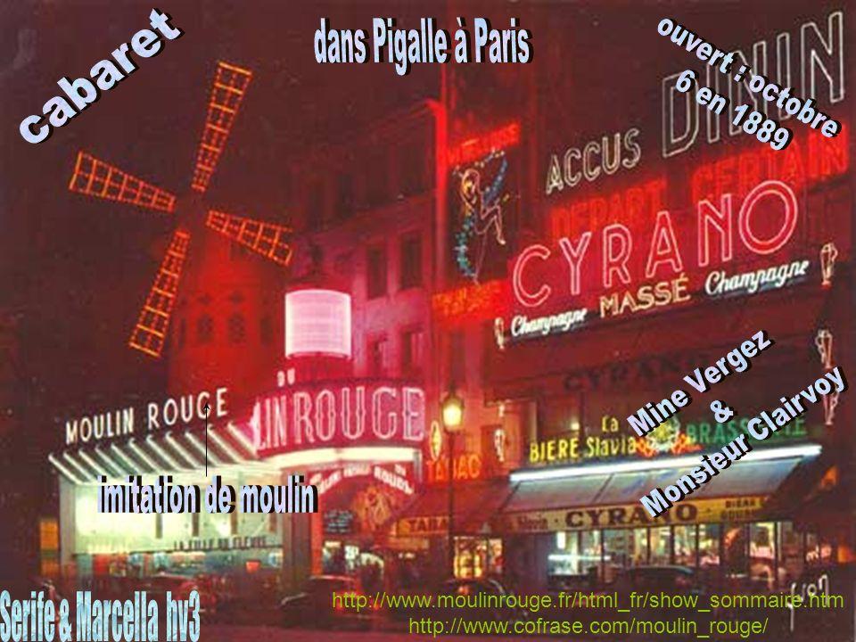 http://www.moulinrouge.fr/html_fr/show_sommaire.htm http://www.cofrase.com/moulin_rouge/