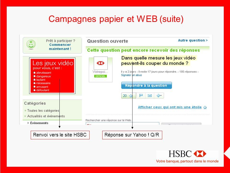 Renvoi vers le site HSBCRéponse sur Yahoo ! Q/R
