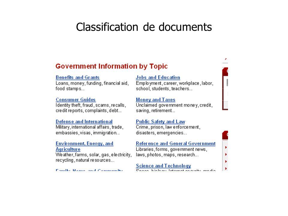 Classification de documents