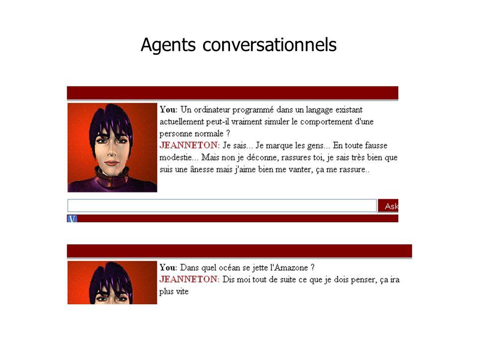 Agents conversationnels