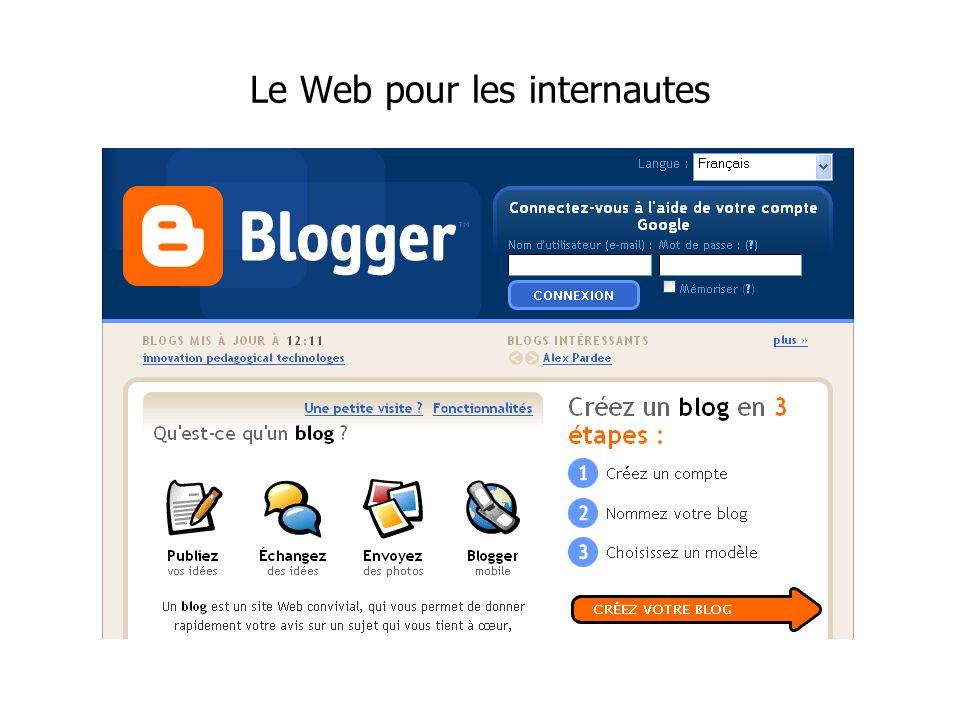 Le Web pour les internautes