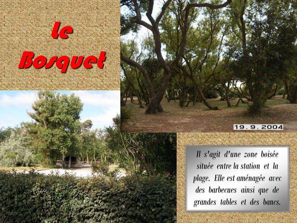 Le Bosquet Il s agit d une zone boisée située entre la station et la plage.