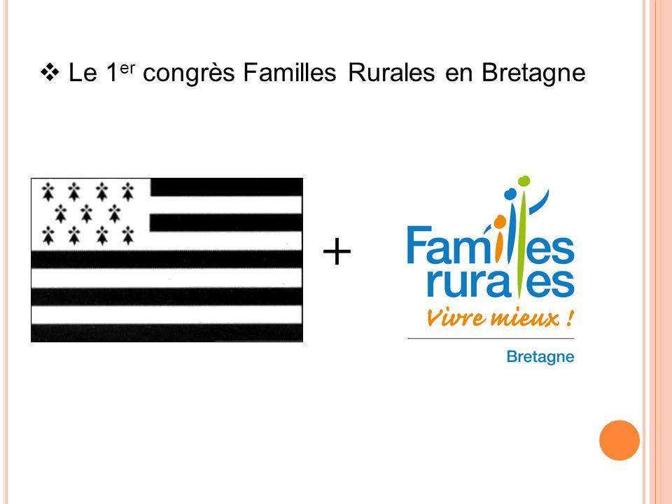 Le 1 er congrès Familles Rurales en Bretagne +