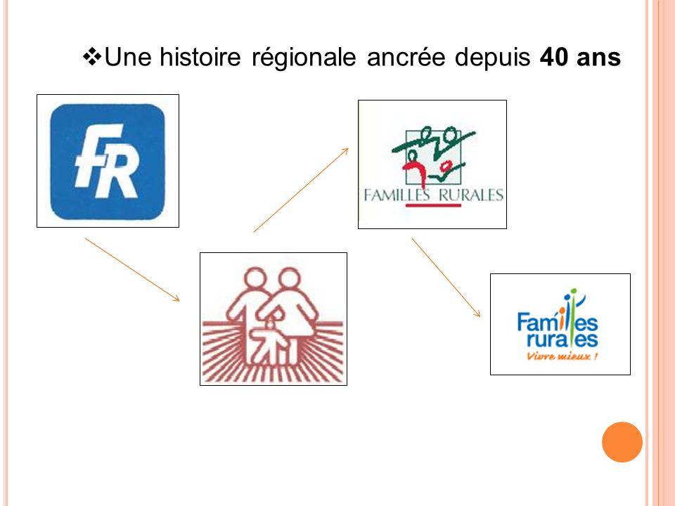 Une histoire régionale ancrée depuis 40 ans