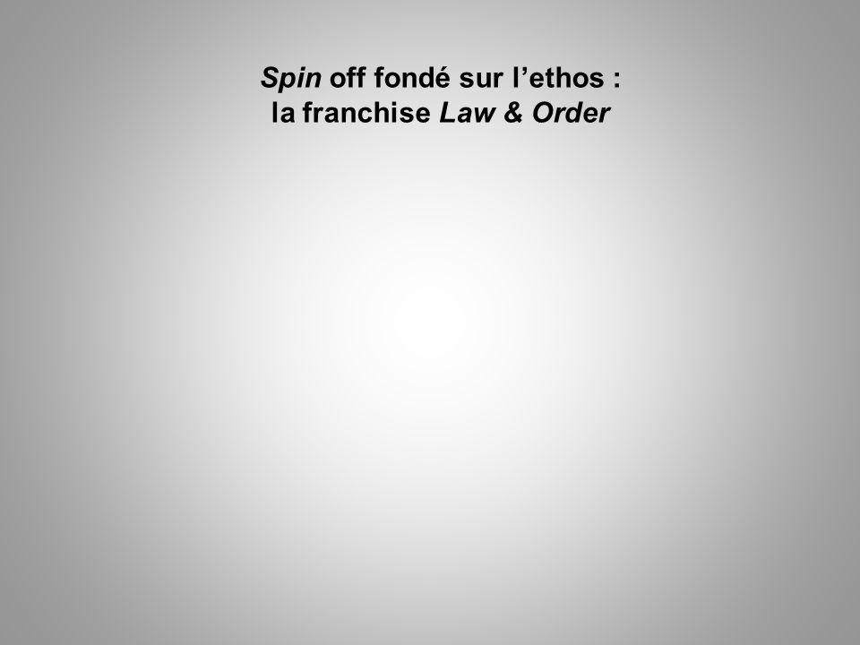 Spin off fondé sur lethos : la franchise Law & Order