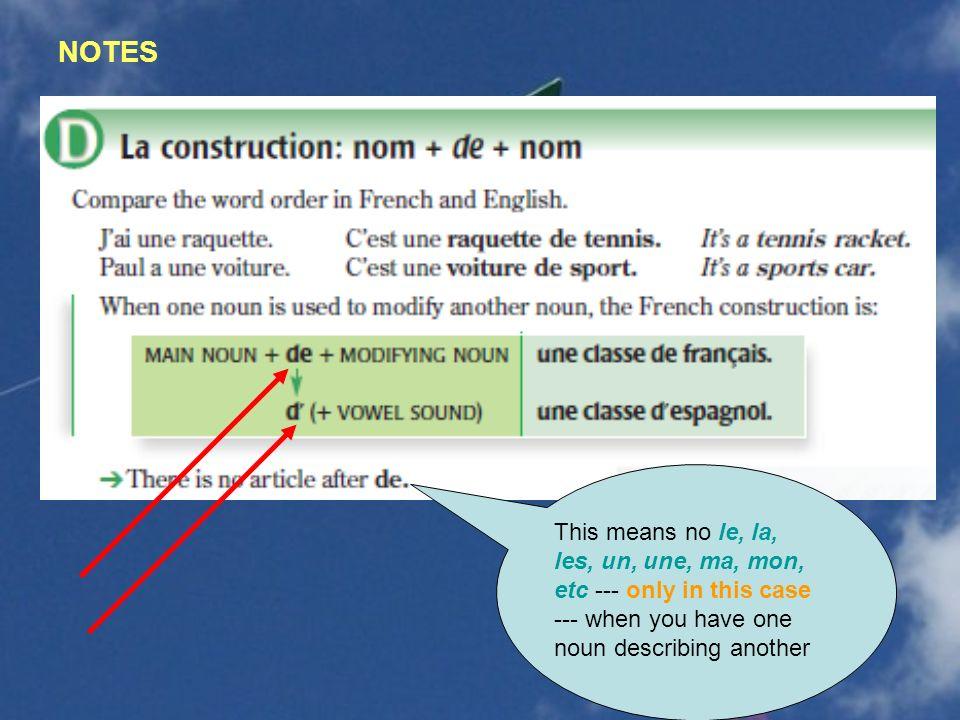 More pronouns: