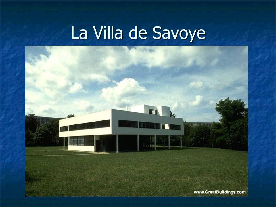 La Villa de Savoye