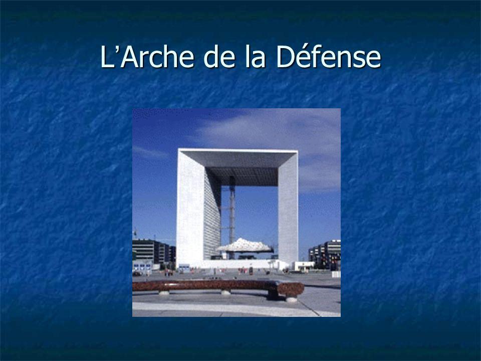 L Arche de la Défense