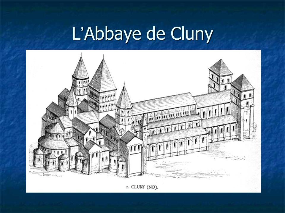 L Abbaye de Cluny