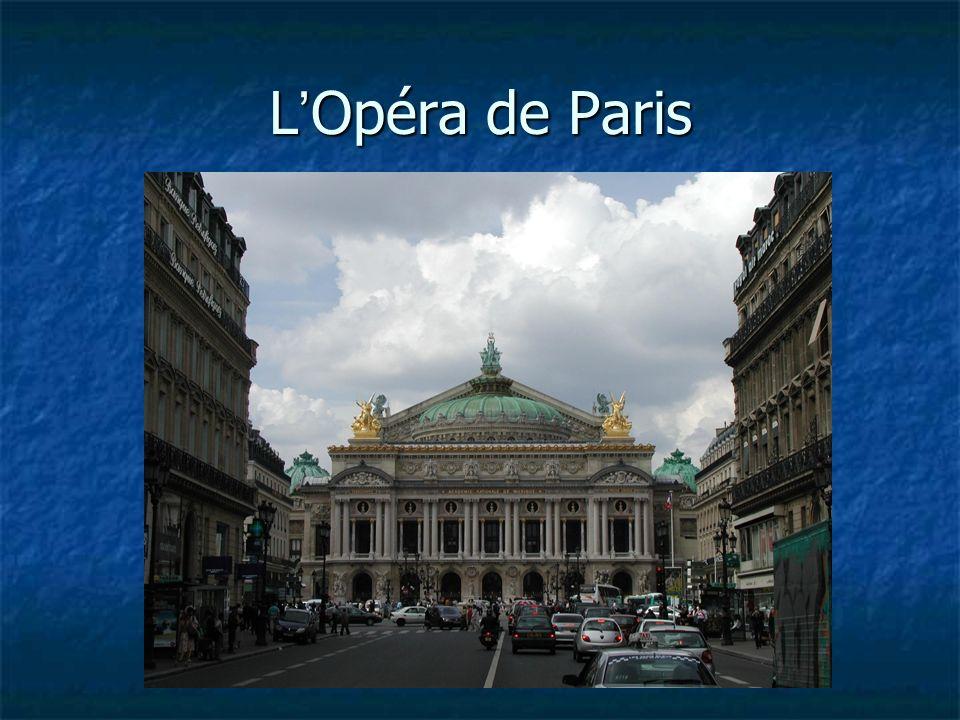 L Opéra de Paris