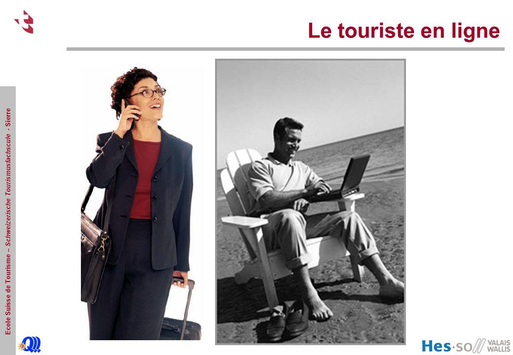Ecole Suisse de Tourisme – Schweizerische Tourismusfachscule - Sierre Le touriste en ligne