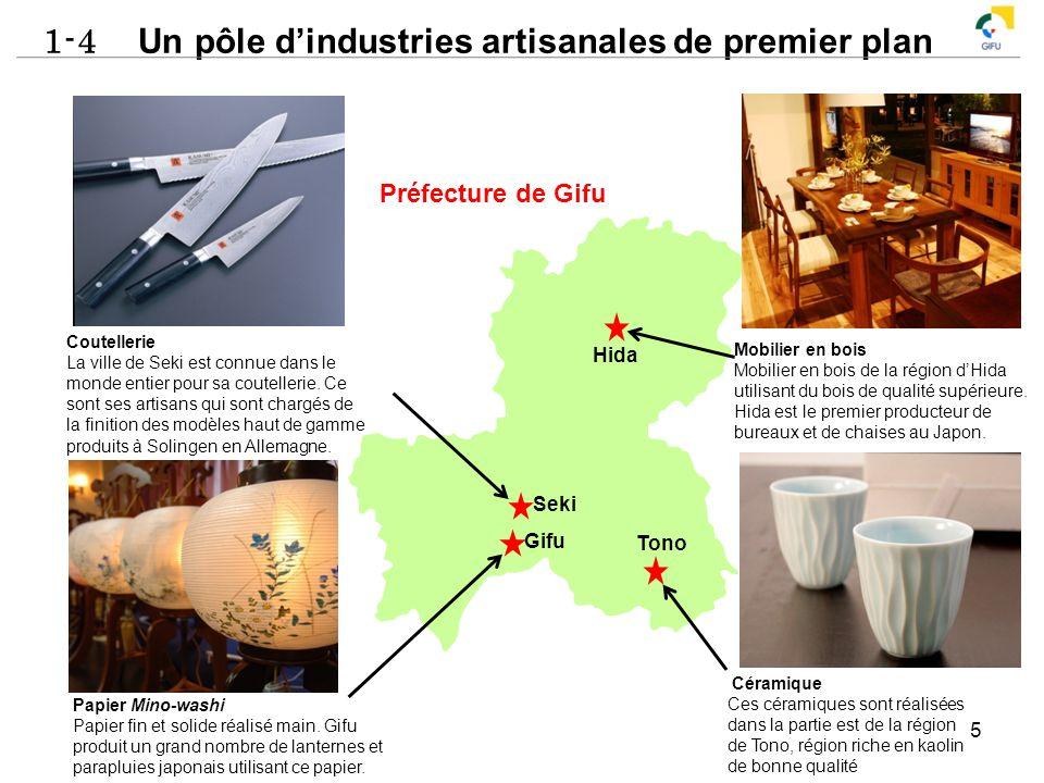 1-4 Un pôle dindustries artisanales de premier plan 5 Coutellerie La ville de Seki est connue dans le monde entier pour sa coutellerie. Ce sont ses ar