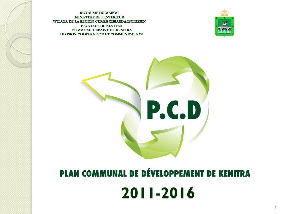 Les étapes du PCD est existe 4 étapes : 1ére étapes : Préparation et coup denvoi du PCD Prise en place dune équipe Communale de Planification, Présidée par le Secrétaire général.