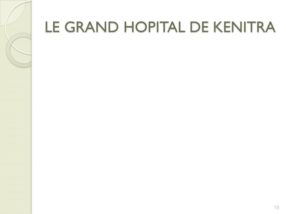 LE GRAND HOPITAL DE KENITRA 19