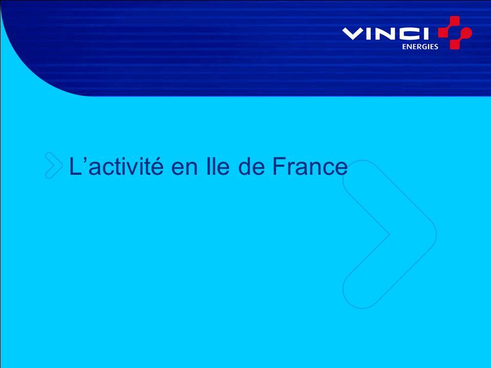Lactivité en Ile de France