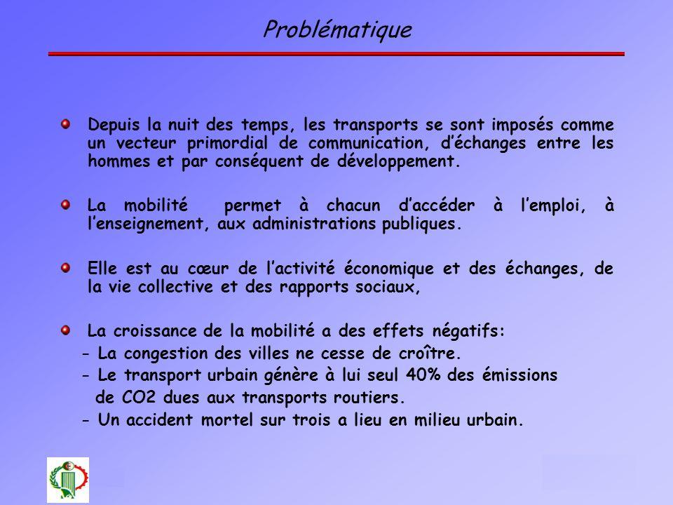 2 Oléron 2003 Problématique Depuis la nuit des temps, les transports se sont imposés comme un vecteur primordial de communication, déchanges entre les
