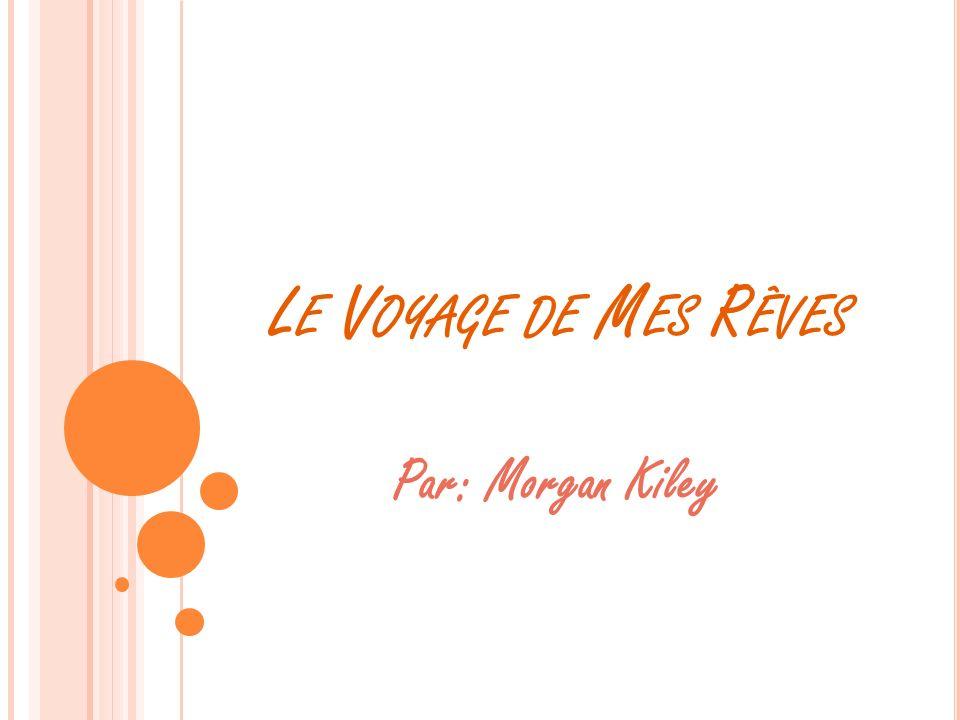 L E V OYAGE DE M ES R ÊVES Par: Morgan Kiley