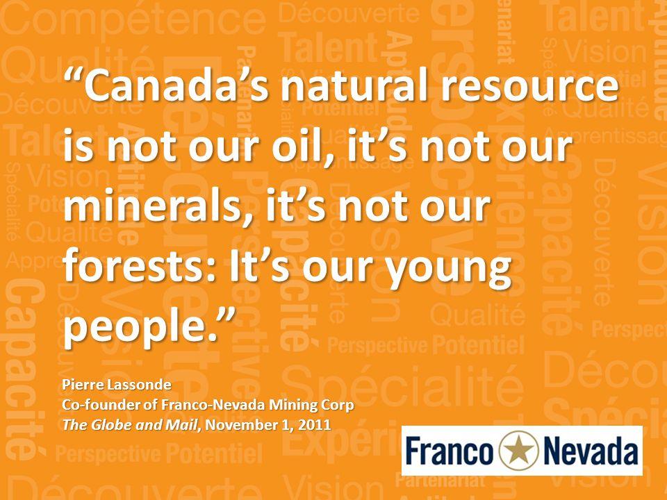« Notre partenariat avec la Lakehead University favorise lamélioration des pratiques en gestion forestière et des politiques forestières partout au Canada.