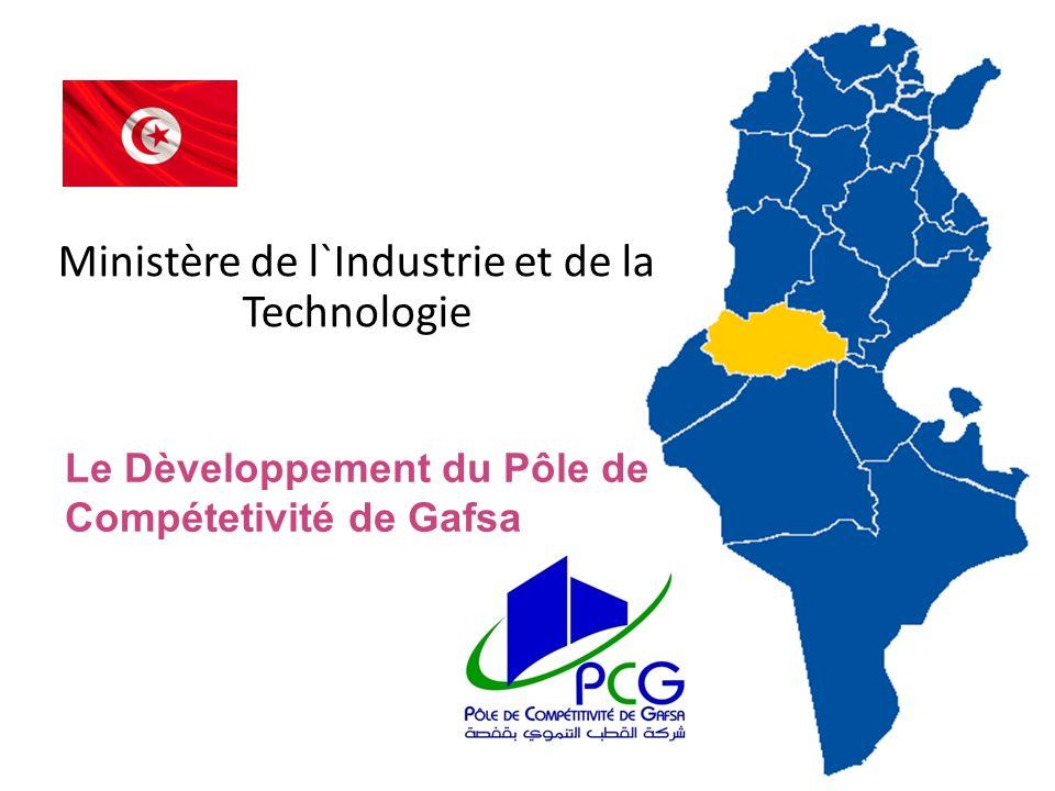 La société du Pôle de Compétitivité de Gafsa est une société anonyme Elle a été crée le 29 Avril 2008 dans le cadre de la loi 2001-50 relative aux entreprises des pôles technologiques.