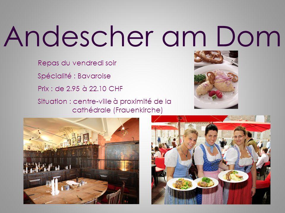 Vendredi 1 ère soirée Visite dune brasserie traditionnelle ! LA HOFBRAUHAUS