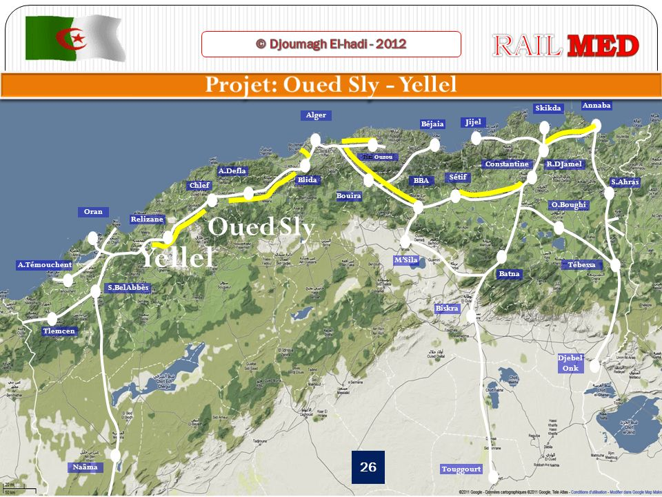27 Projet: OUED SLY/YELLEL