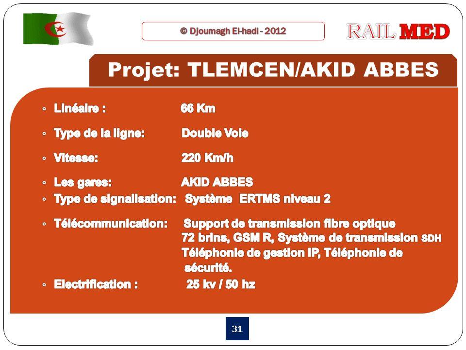 31 Projet: TLEMCEN/AKID ABBES