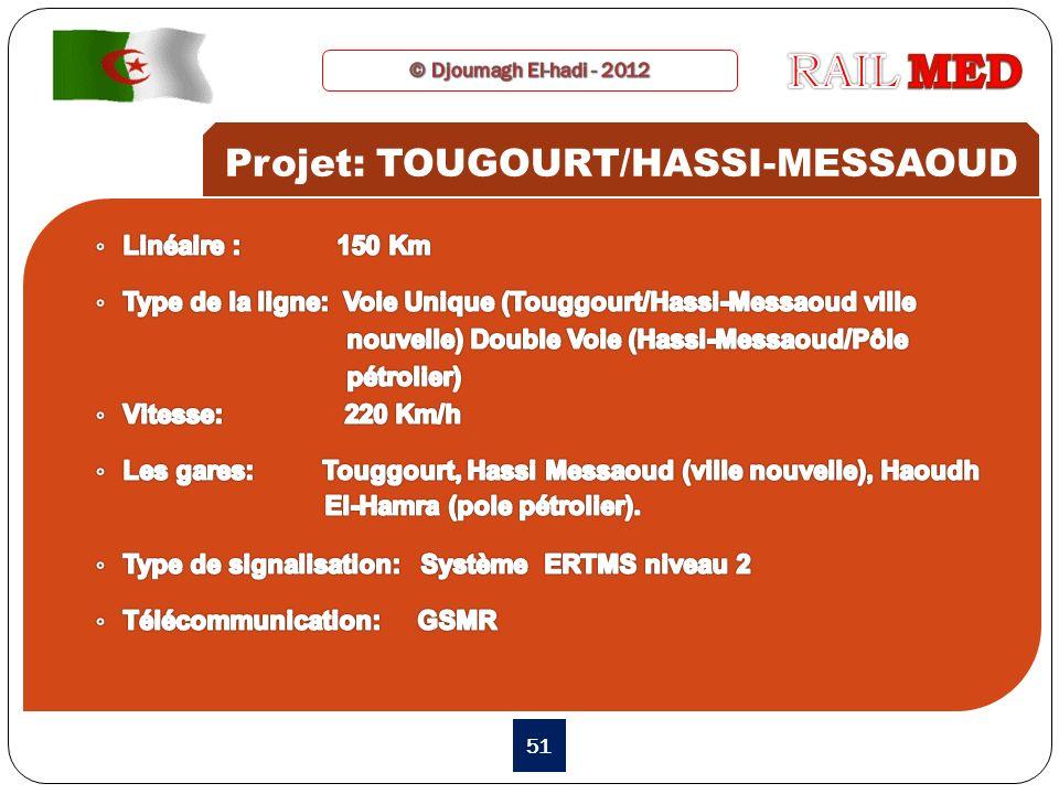 51 Projet: TOUGOURT/HASSI-MESSAOUD