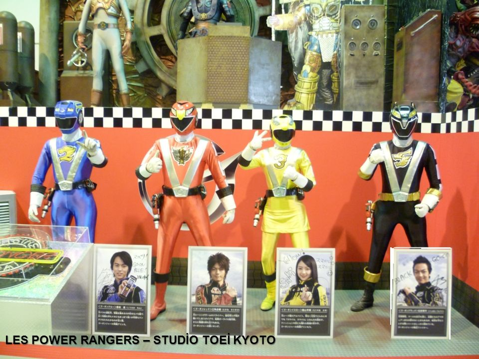 LES POWER RANGERS – STUDİO TOEİ KYOTO