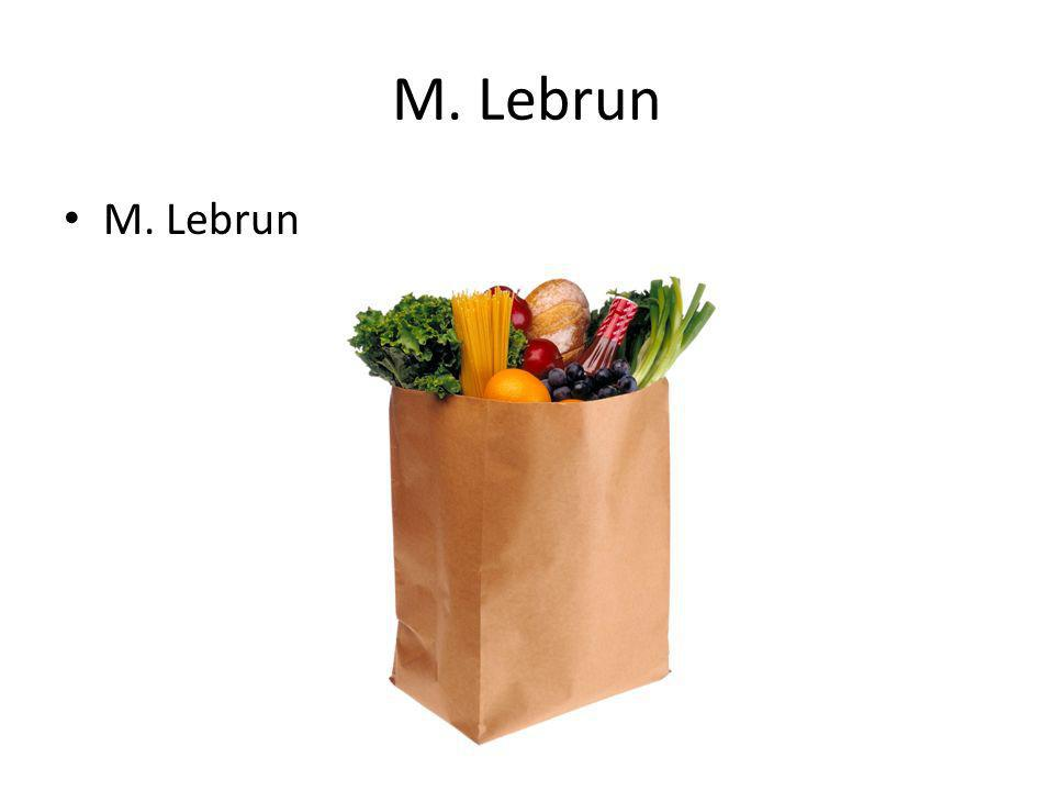 M. Lebrun