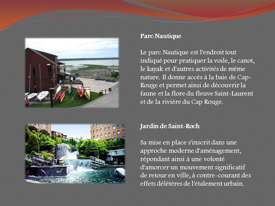 Parc Nautique Le parc Nautique est l endroit tout indiqué pour pratiquer la voile, le canot, le kayak et d autres activités de même nature.