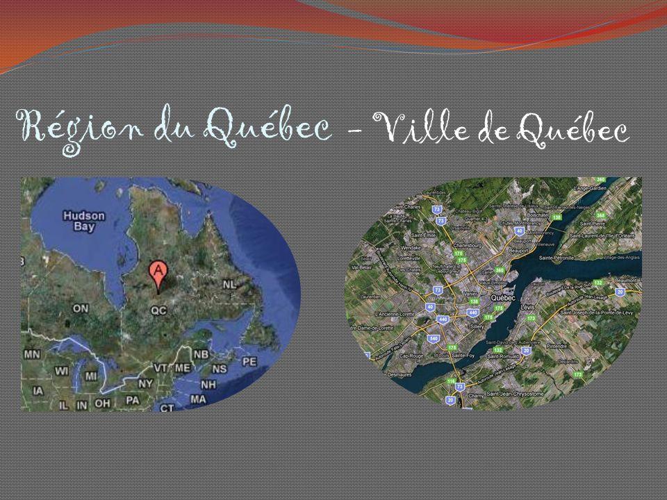 Région du Québec - Ville de Québec