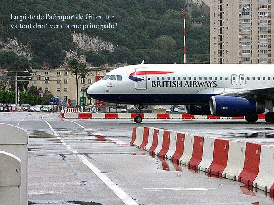 Gibraltar est l'un des territoires britanniques d'outre- mer, il est situé dans le sud de l'Espagne, entre le détroit de Gibraltar, la Méditerranée et