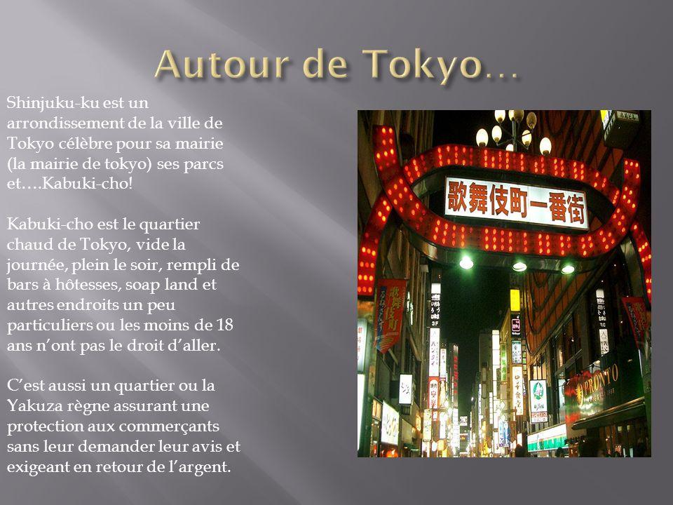 Shinjuku-ku est un arrondissement de la ville de Tokyo célèbre pour sa mairie (la mairie de tokyo) ses parcs et….Kabuki-cho! Kabuki-cho est le quartie