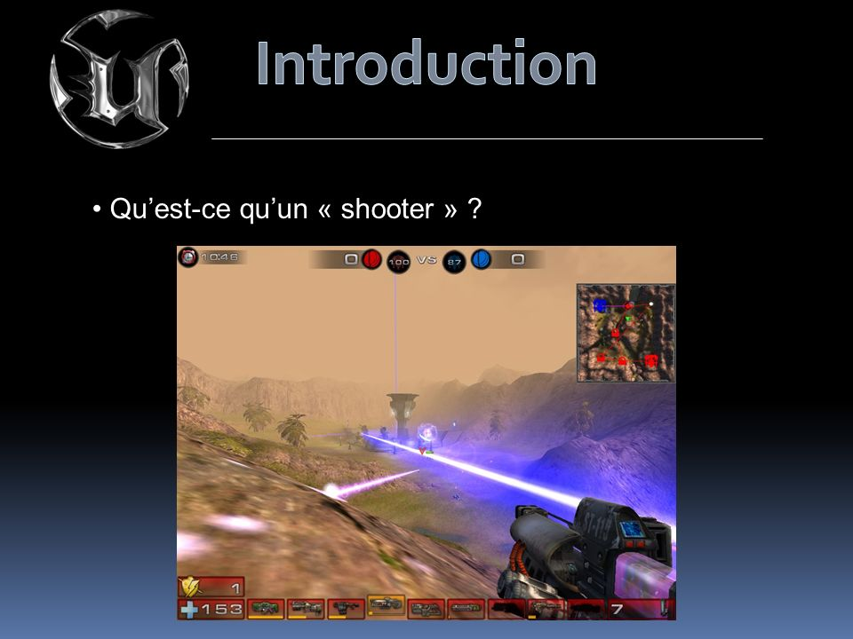 Quest-ce quun « shooter » ?