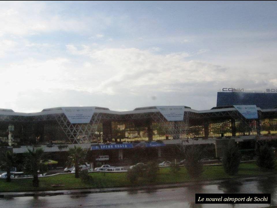 Le nouvel aéroport de Sochi