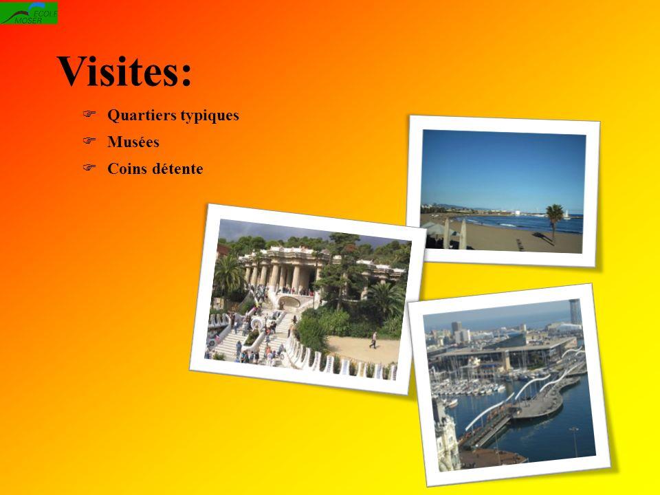 Visites: Quartiers typiques Musées