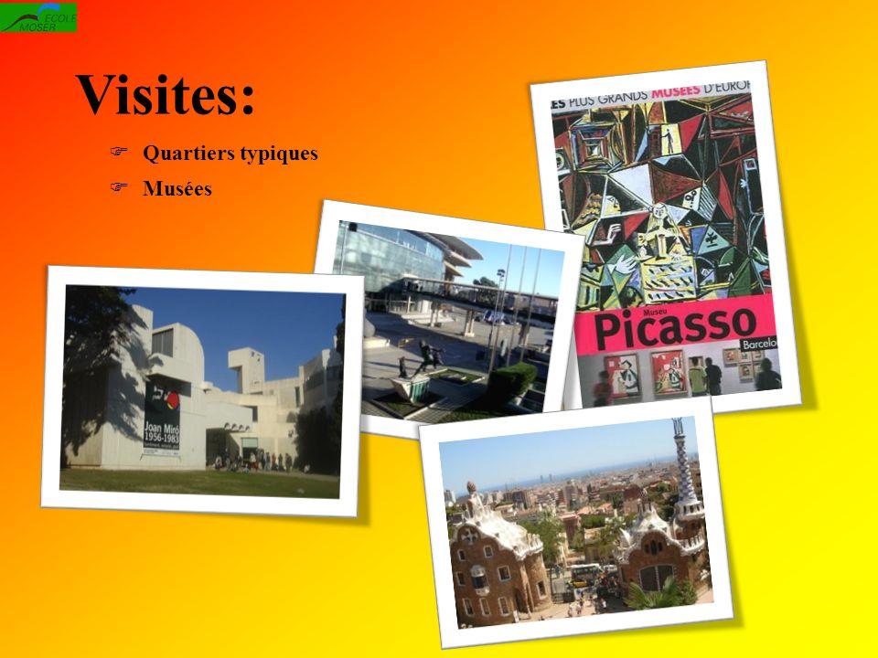 Visites: Quartiers typiques