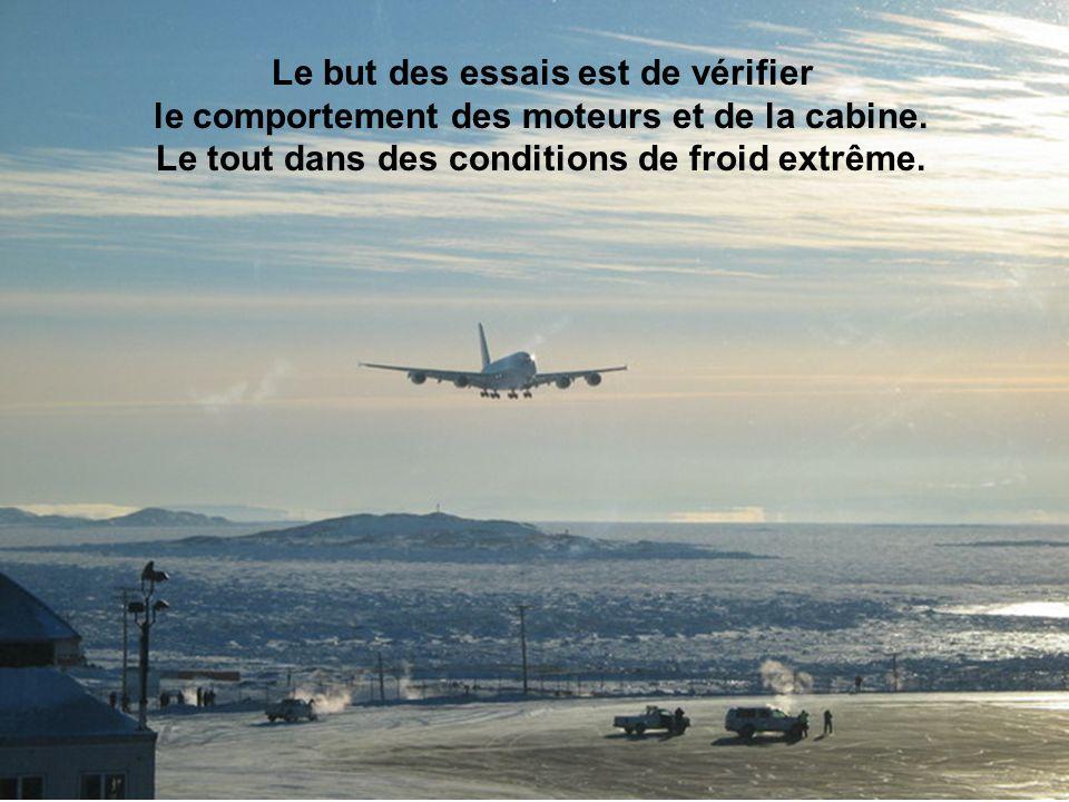 L Airbus A380 effectuera des essais par temps chaud l été prochain