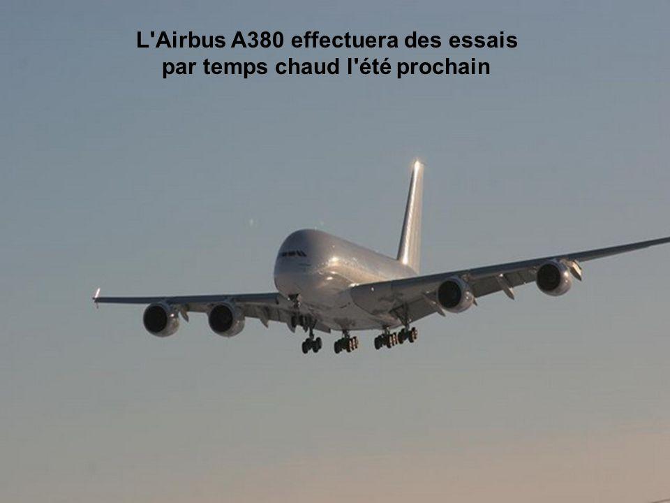 L aéroport d Iqaluit a été choisi par Airbus en raison de son climat, de son espace aérien dégagé et de sa piste très longue.