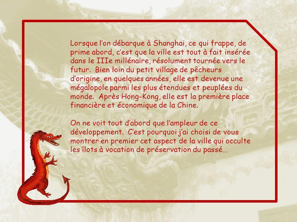 CHINE 7 SHANGHAI VILLE DU FUTUR