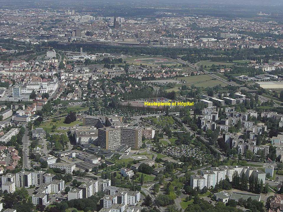 Hôpital de Hautepierre cathédrale