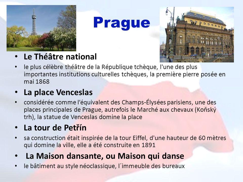 Prague Le Théâtre national le plus célèbre théâtre de la République tchèque, l'une des plus importantes institutions culturelles tchèques, la première