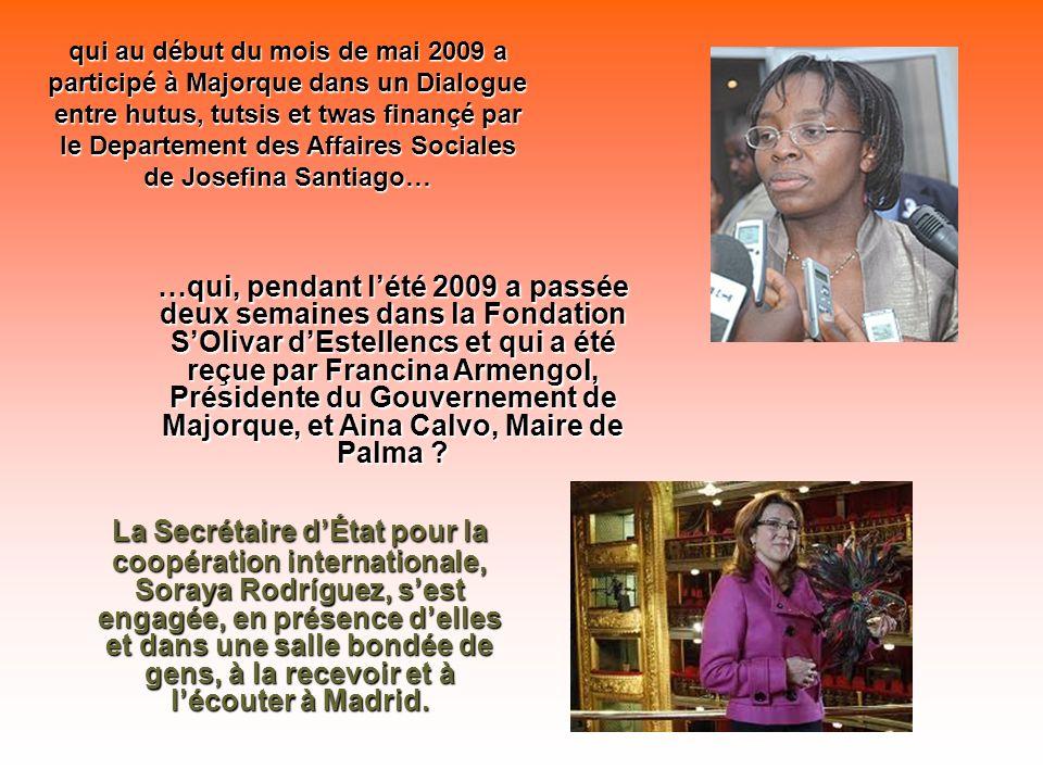 Vous vous souvenez delle, la femme que presque toute lopposition rwandaise avait comme candidate à la Présidence de son pays aux élections du mois dao