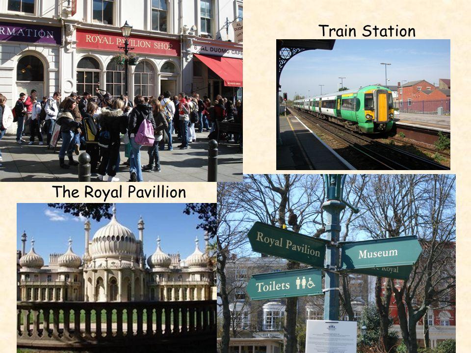 Train Station The Royal Pavillion
