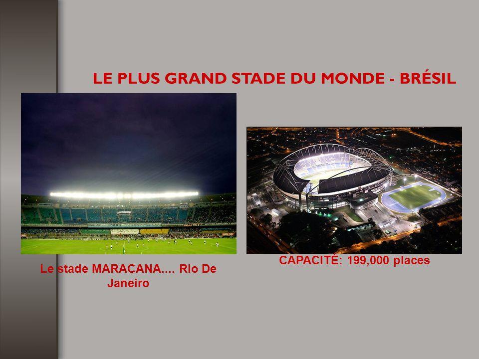 LE PLUS GRAND STADE DU MONDE - BRÉSIL