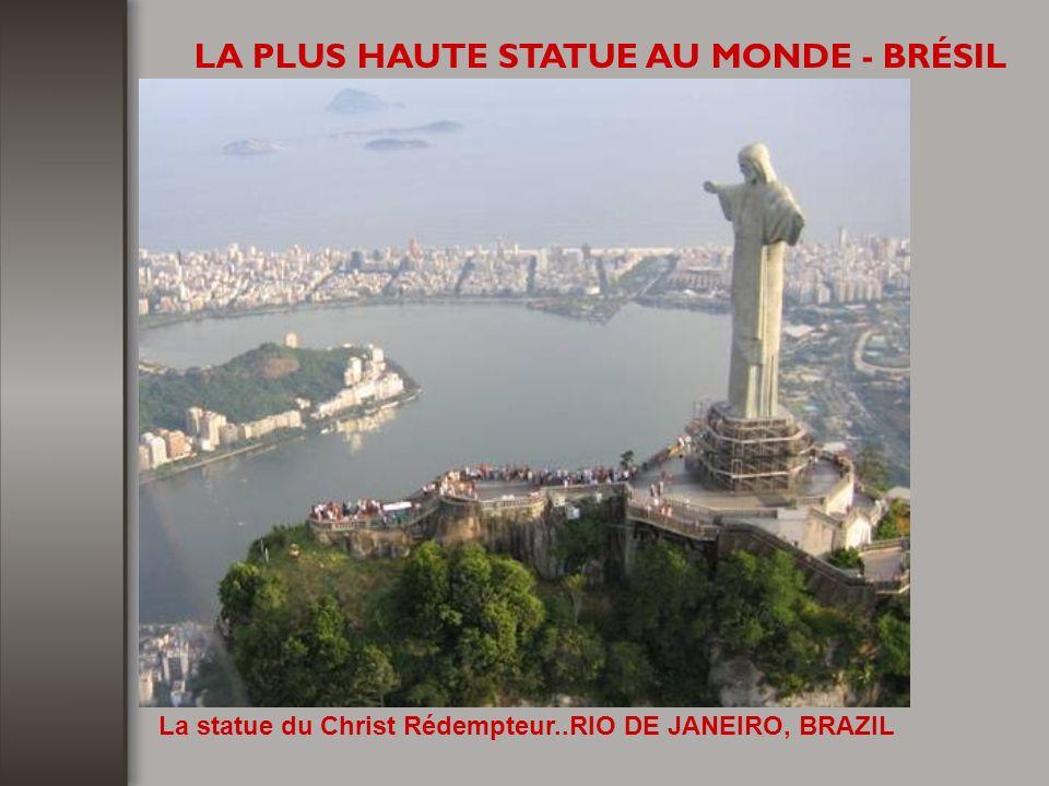 LA PLUS HAUTE STATUE AU MONDE - BRÉSIL
