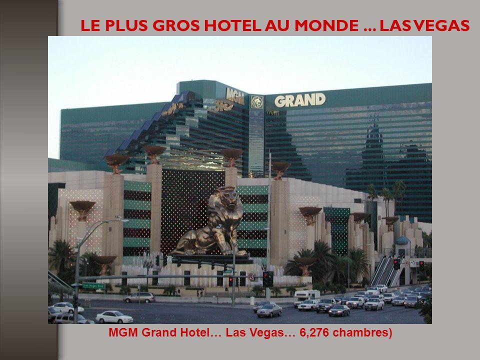 LE PLUS GROS HOTEL AU MONDE... LAS VEGAS