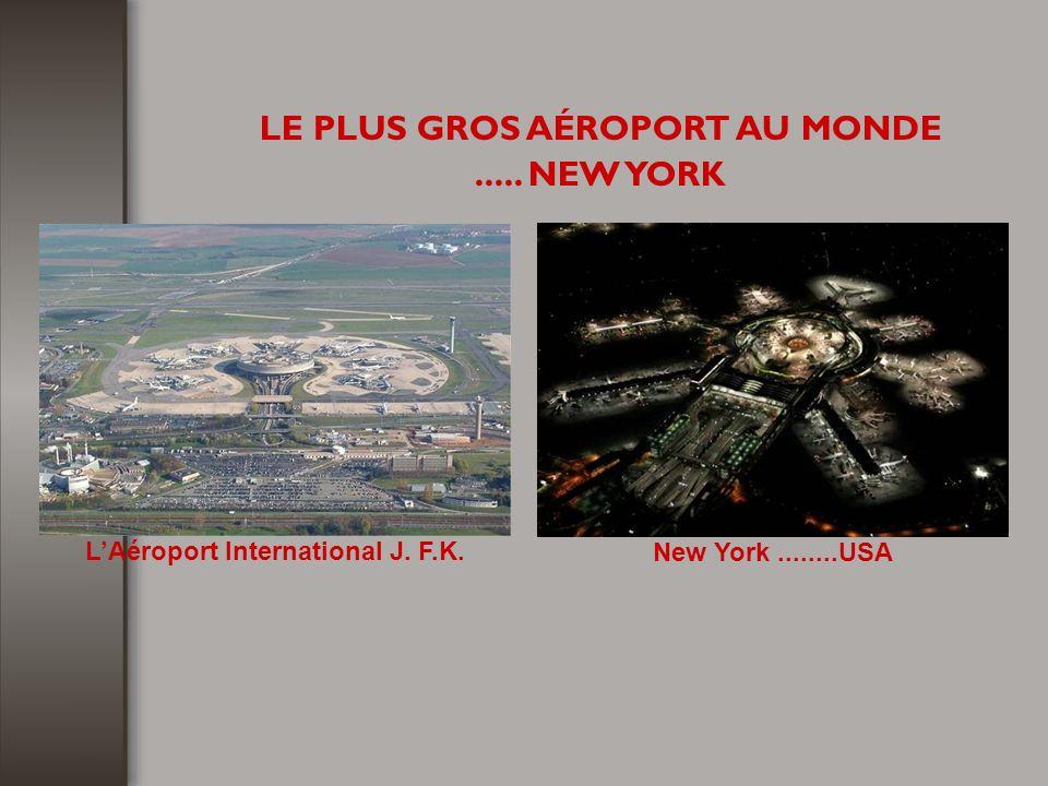 LE PLUS GROS AÉROPORT AU MONDE..... NEW YORK