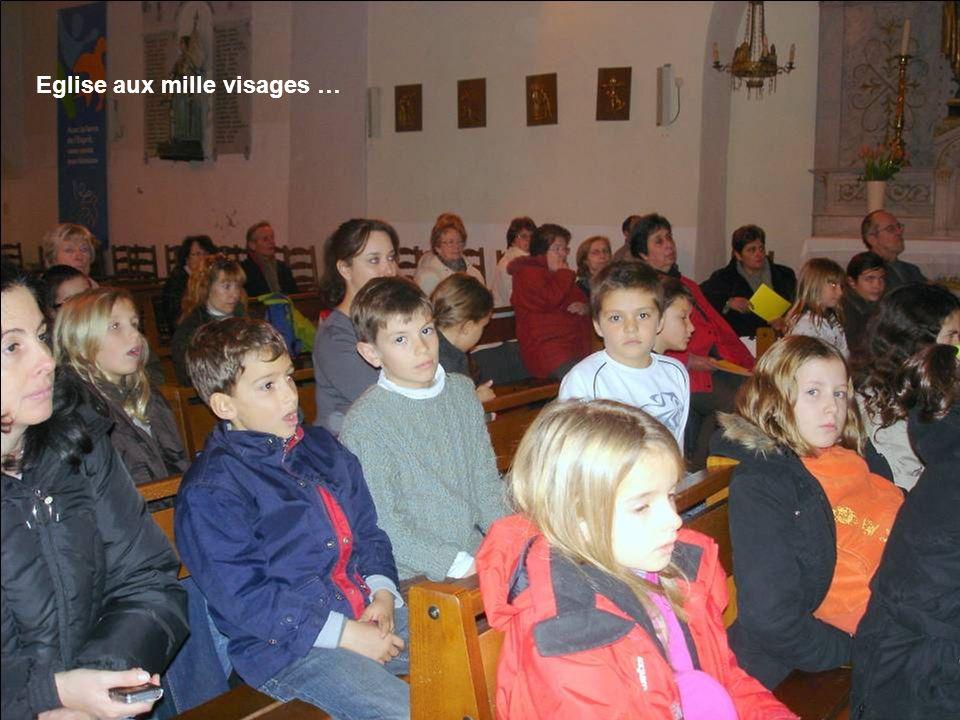 Eglise aux mille visages …