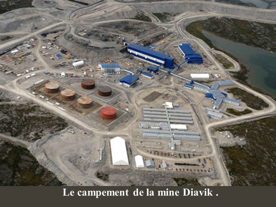 Extraction du diamant Lenvironnement.